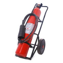 25kg CO2 wheeled extinguisher