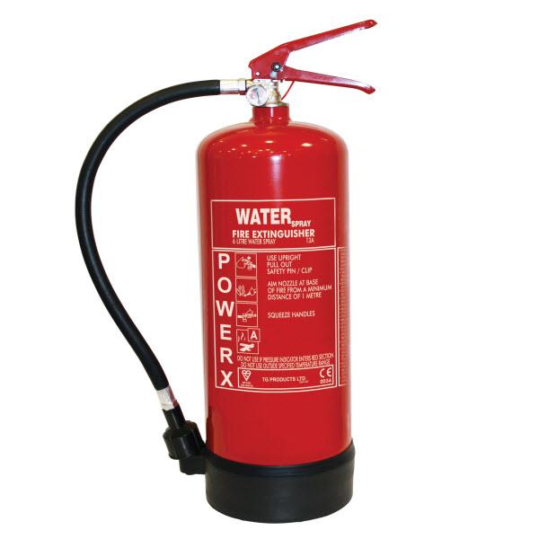 6 litre water spray extinguisher