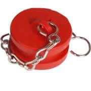 Blank Plug and Chain